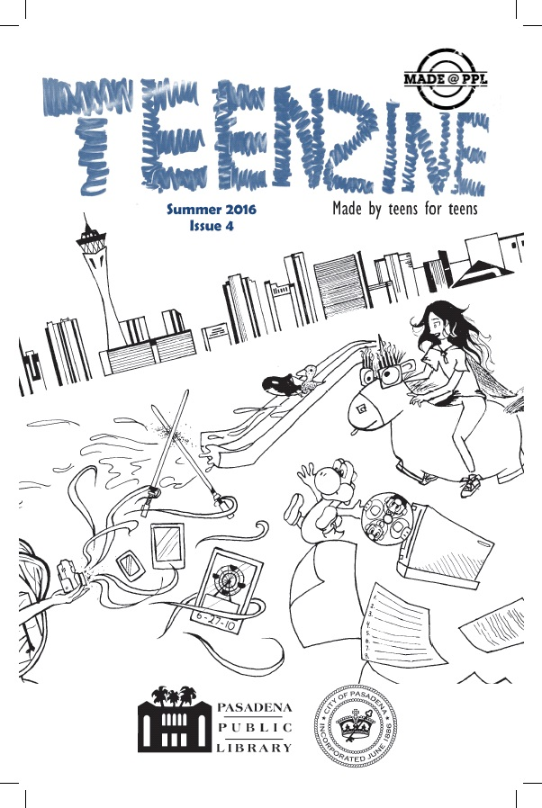Teen Zine Issue 4 Cover