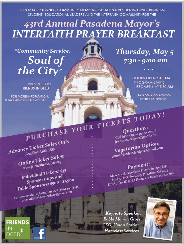 43rd Annual Mayor's Prayer Breakfast