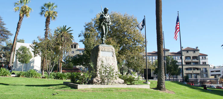 Image link to Public Memorials and Monuments