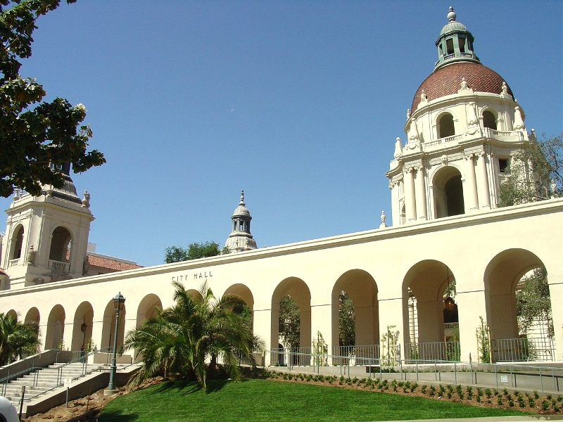 Pasadena City Hall – Back