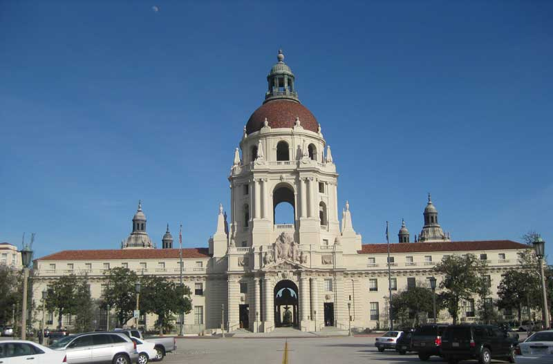 Pasadena City Hall – Front