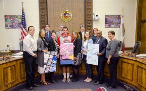 PUSD'S Burbank Art Banner Contest Winner - 2016