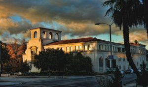 Pasadena Police Department building exterior