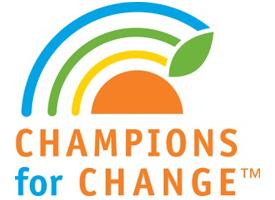 Champions for Change logo