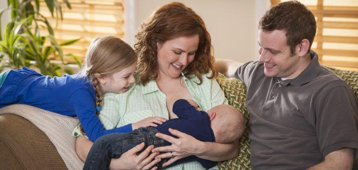 Mother breastfeeding WIC slideshow image