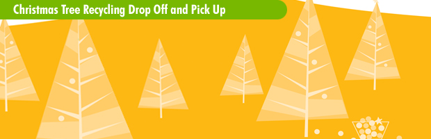 Christmas Tree Drop Off banner