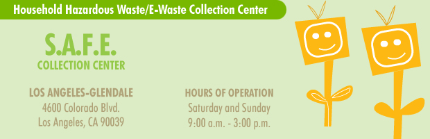 Household Hazardous Waste/E-waste Collection Centers