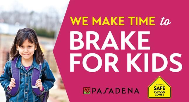 Safe School Zones - Make Time to Brake for Kids 646x350