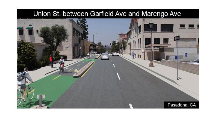 Union Street Between Garfield and Marengo Avenue After