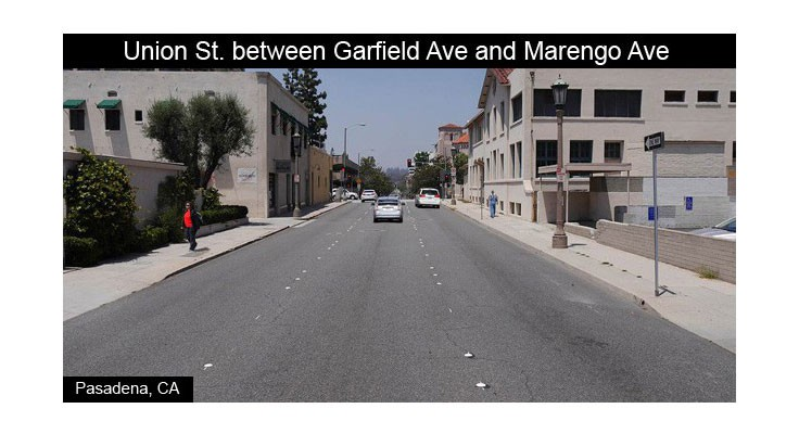 Union Street Between Garfield and Marengo Avenue Before