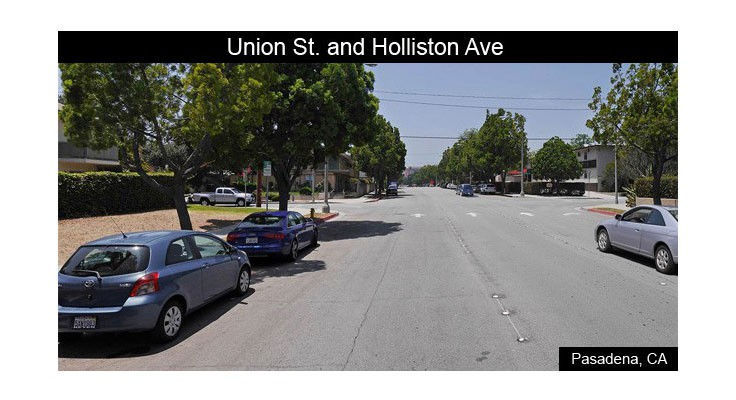 Union Street and Holliston Avenue Before