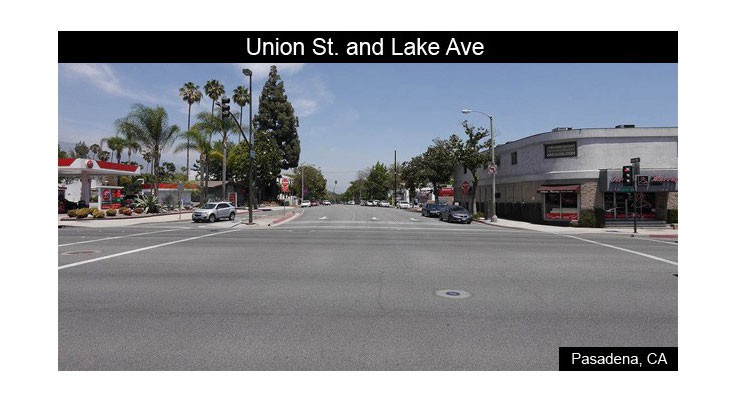 Union Street and lake Avenue Before