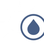 Summer water light icon