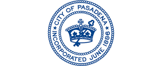 Pasadena City Seal link to Government information page